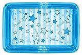 ドウシシャ ビニールプール 角形 ブルー 100cm