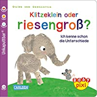 Baby Pixi 52: VE 5 Klitzeklein oder riesengross? (5 Exemplare): Ich kenne schon die Unterschiede