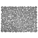 InterDesign シンク 用 流し 保護マット Bubbli グラファイト L 09253EJ