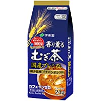 伊藤園 香り薫るむぎ茶 国産プレミアムティーバッグ 7g×24袋