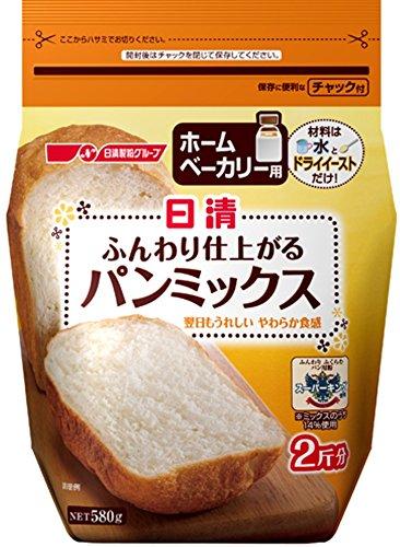日清 ホームベーカリー用 ふんわり仕上がるパンミックス 58...