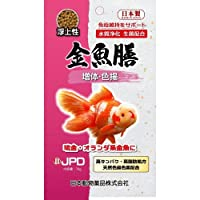 ニチドウ 金魚膳 増体色揚げ浮上性 70g