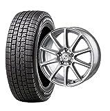 スタッドレスタイヤ195/65R15・ホイール1本セット 15インチ DUNLOP(ダンロップ) ウィンターマックスWM-01 195/65R15 91Q + INTER MILANO ゼファー BT10 (BEST) 1560 5H100 +45