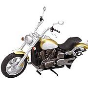 ex:ride ride. 007 アメリカンバイク ゴールド(ノンスケールABS製塗装済み完成品)