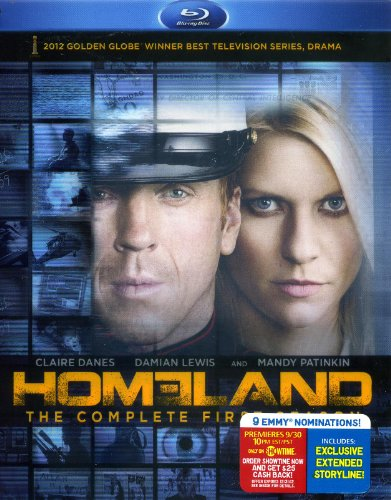 Homeland: Season 1 [Blu-ray] [Import]
