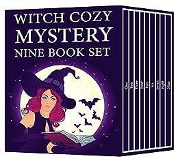Witch Cozy Mystery Nine Book Set by [Morgan, Amelia]