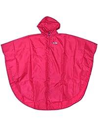 [アウトドアプロダクツ] OUTDOOR PRODUCTS キッズ ポンチョ ソリッド カラー ランドセル リュック の上からもOK 05002180 レインコート カッパ 雨具