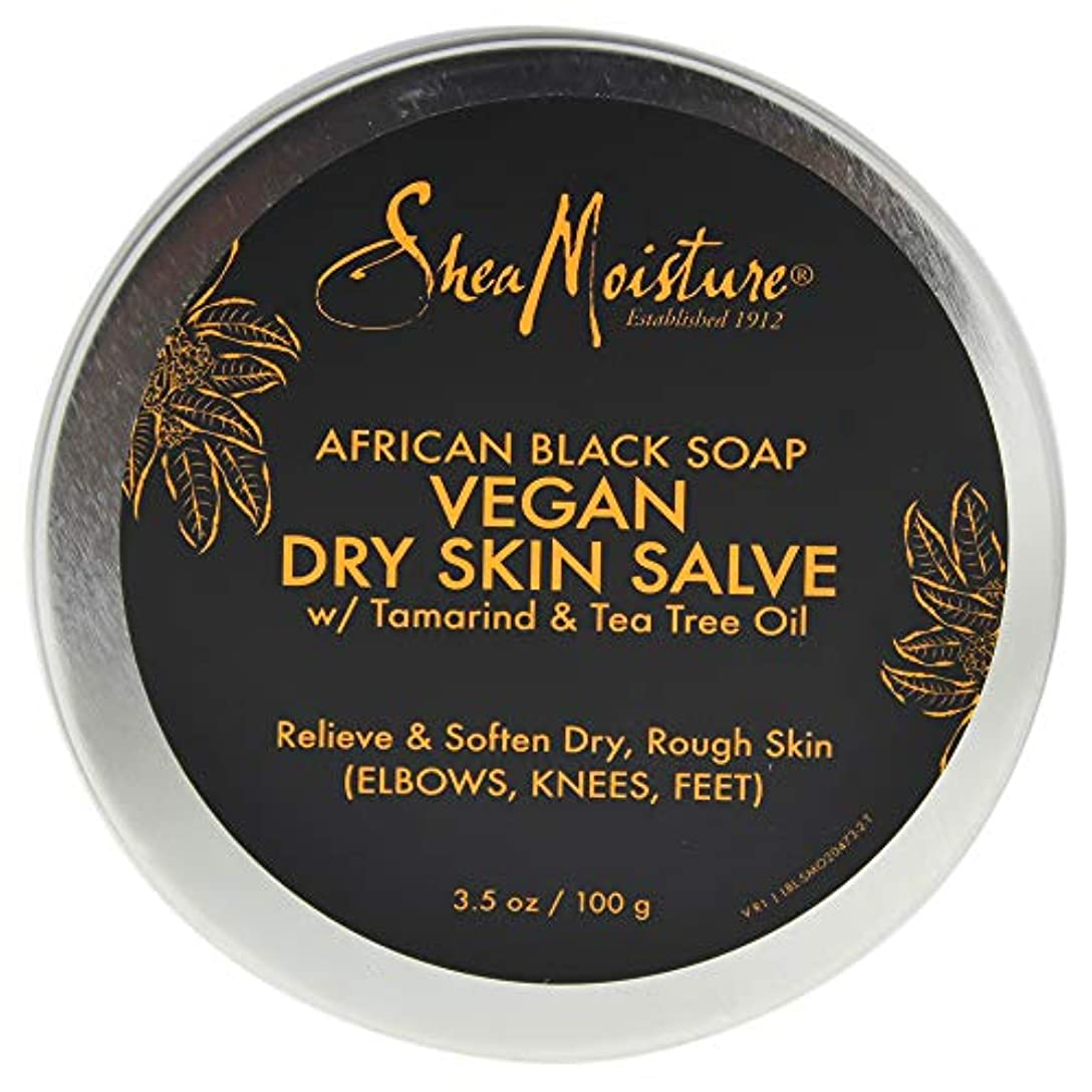 ねばねばに渡って頻繁にAfrican Black Soap Vegan Salve Cream