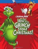 Dr Seuss The Grinch Coloring Book: Over 50 Coloring Pages Of How The Grinch Stole Christmas To Inspire Creativity And Relaxation. A Perfect Gift For Kids & Adults