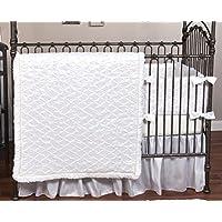 Trend Lab Marshmallow 3 Piece Crib Bedding Set [並行輸入品]