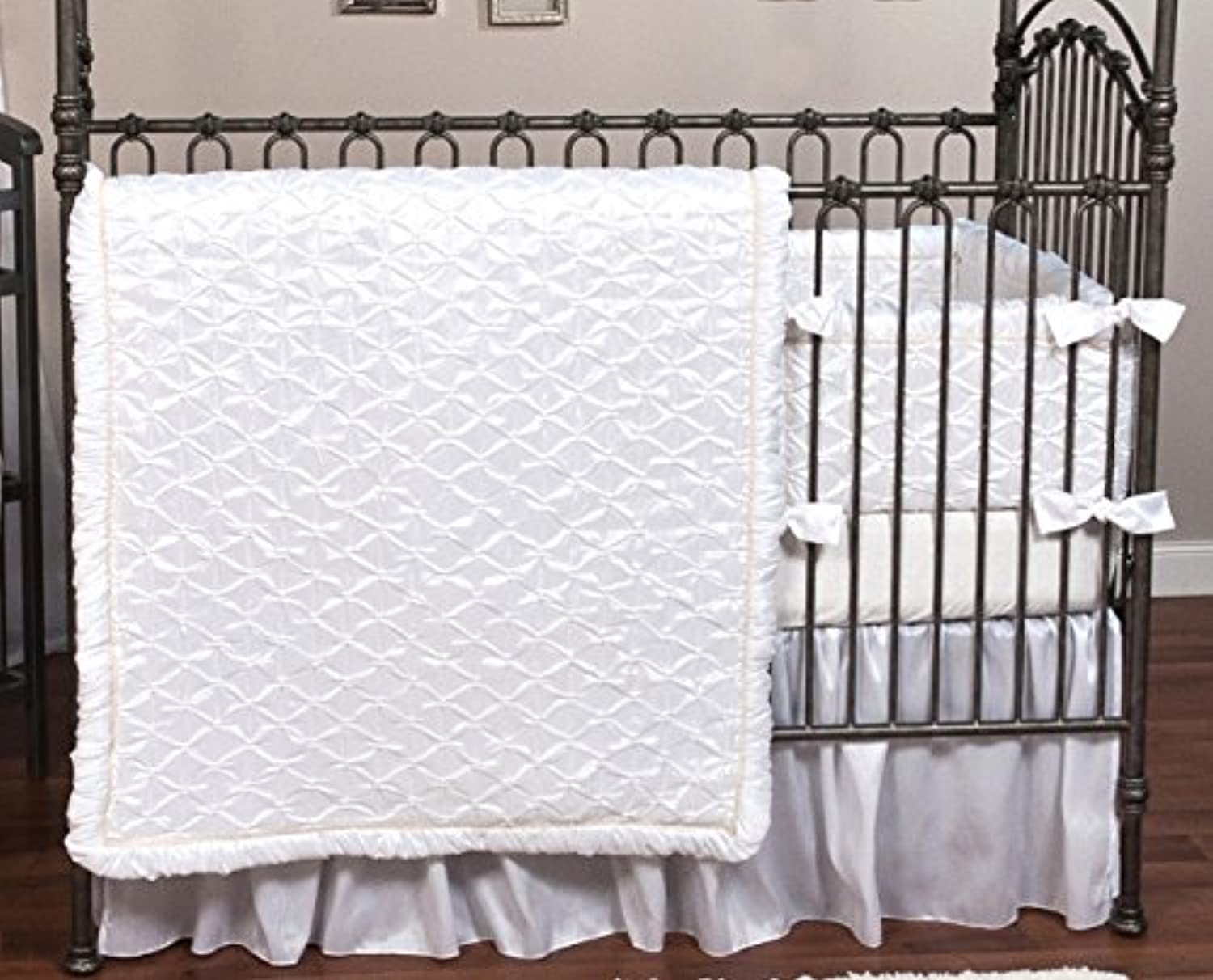 Trend Lab Marshmallow 3 Piece Crib Bedding Set [並行輸入品]