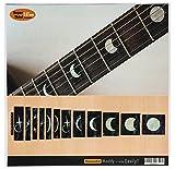 Jockomo ムーンフェイズ ギターに貼る インレイステッカー