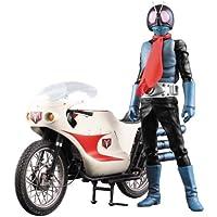 RAH リアルアクションヒーローズ DX 仮面ライダー旧1号 Ver.3.5 & サイクロン号 1/6スケール ABS&ATBC-PVC製 塗装済み可動フィギュア