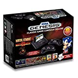 Sega Genesis Deluxe Classic Game Console Exclusive 85 Built in Games by At Games [並行輸入品]