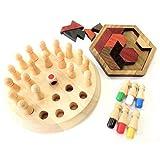 【ぴぴっと】 リハビリ 訓練 老化防止 木製パズル 介護 知育 大人 子供 指先 脳トレ 集中力 ゲーム 2種類セット