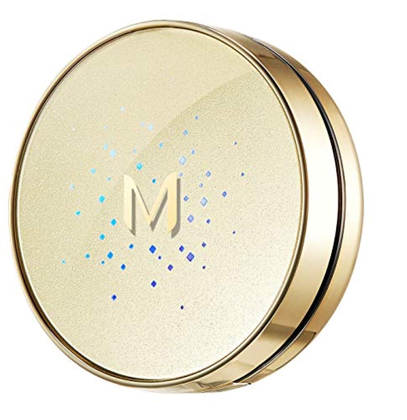 破壊的な吸う組み立てる【ミシャ.missha】Mゴールドクッション#21(14G)SPF50+/ PA+++ GOLD CUSHIONシワ改善。美白紫外線遮断の機能性化粧品