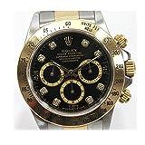 ROLEX(ロレックス) デイトナ コスモグラフ 8Pダイヤ メンズ腕時計 YG/SS 自動巻 A番 16523G [中古] ()