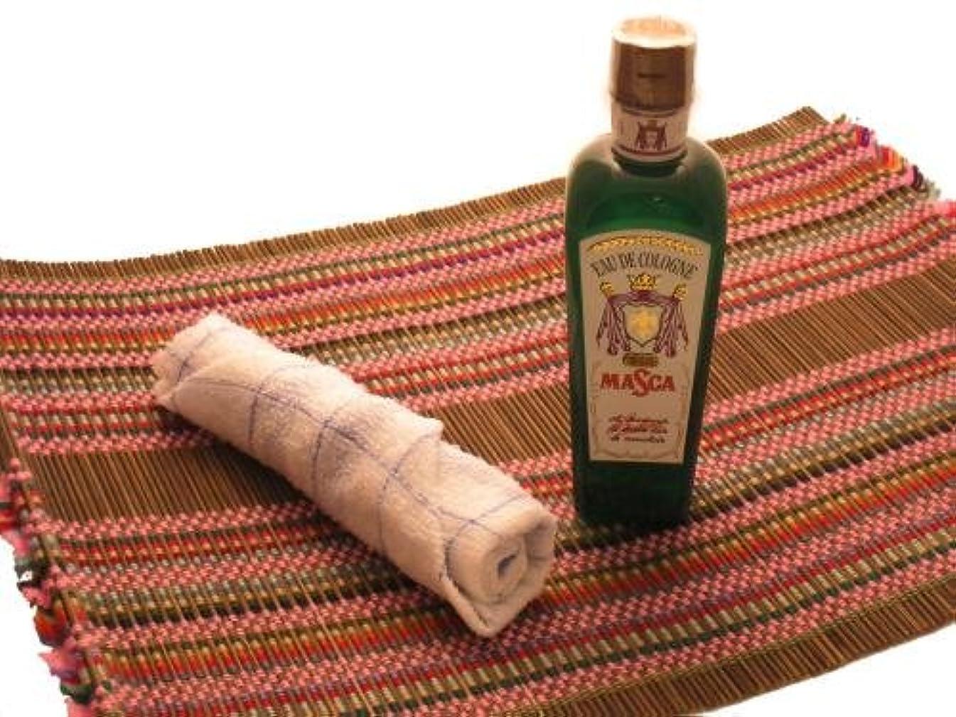 オーデコロンMASCA タイ航空の香り フレングラス おしぼり アジアン雑貨
