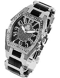 ユニバーシティ UNIVERSITY メンズ腕時計 長渕剛さん 芸能人愛用 アナログ ステンレス ブラック US203BK