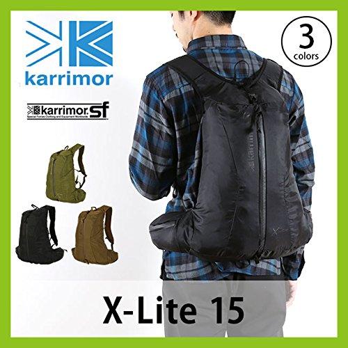 カリマー Xライト 15 エックスライト バックパック ハイドレーション対応 15L X-Lite 2.ブラック