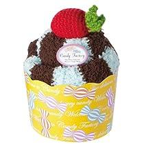 プレーリー レッグウォーマー Candy Factory メガカップケーキ チョコミント CFC-702