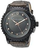 Sean John Men 's ' Diamond ' QuartzメタルCasual Watch , Color :グレー(モデル: 10030886)