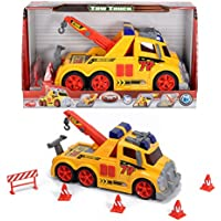 Majorette Action Series Toy Tow Truck & Accessories by Dickie Toys by DICKIE TOYS