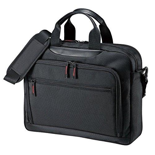 マチ拡張PCバッグ BAG-W1BKN [14型ワイド対応 ブラック]