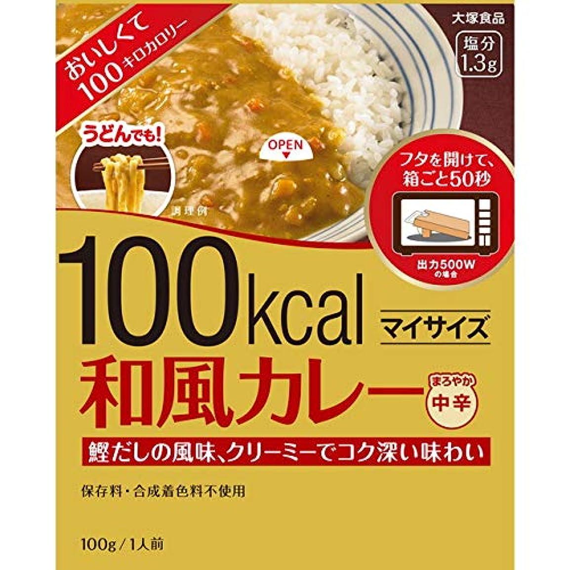 逆説強要有効な大塚 マイサイズ 和風カレー 100g【5個セット】