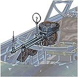 ファインモールド 1/48 ナノ・アヴィエーションシリーズ 九二式7.7mm旋回機銃 ルイス機銃 プラモデル用パーツ NC11