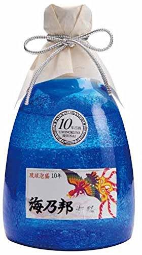 海乃邦 潮騒10年貯蔵古酒 泡盛 瓶 43度 720ml