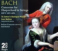 Comp.harpsichord Concertos: I.bolton(Cemb) / St.james Baroque Players