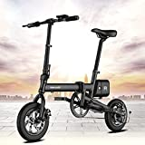 Ideawalk 折りたたみ電動アシスト自転車 12インチ PANASONICリチウムイオンバッテリー搭載
