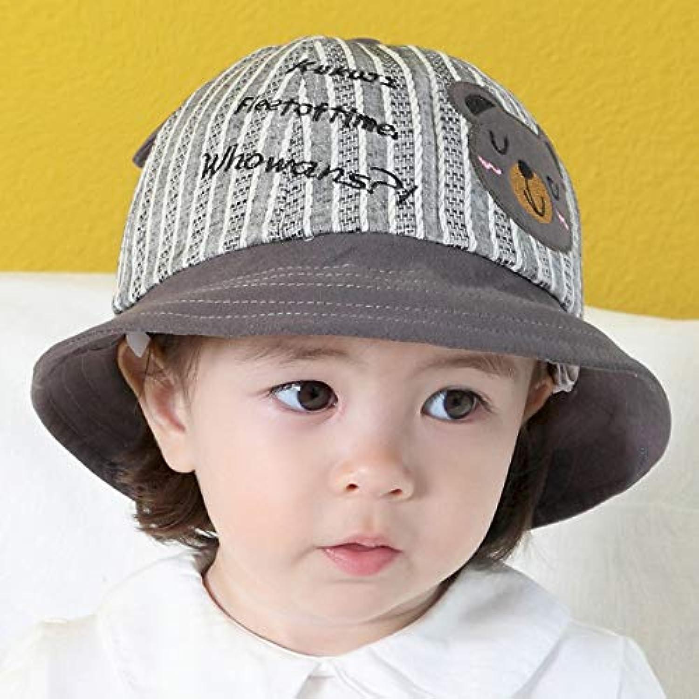 帽子 ギッズ 赤ちゃんキャップ 日よけ サンバイザー ベビー ハット 子供用 バケットハット 可愛い おしゃれ 幼児 帽子