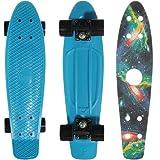 ペニー スケートボード penny skate 22インチ クラシックシリーズ Blue PN00205 + 22インチ デッキテープ GALAXY PGT-009 [並行輸入品]