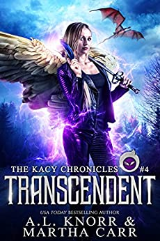 Transcendent: The Revelations of Oriceran (The Kacy Chronicles Book 4) by [Knorr, A.L., Carr, Martha, Anderle, Michael]