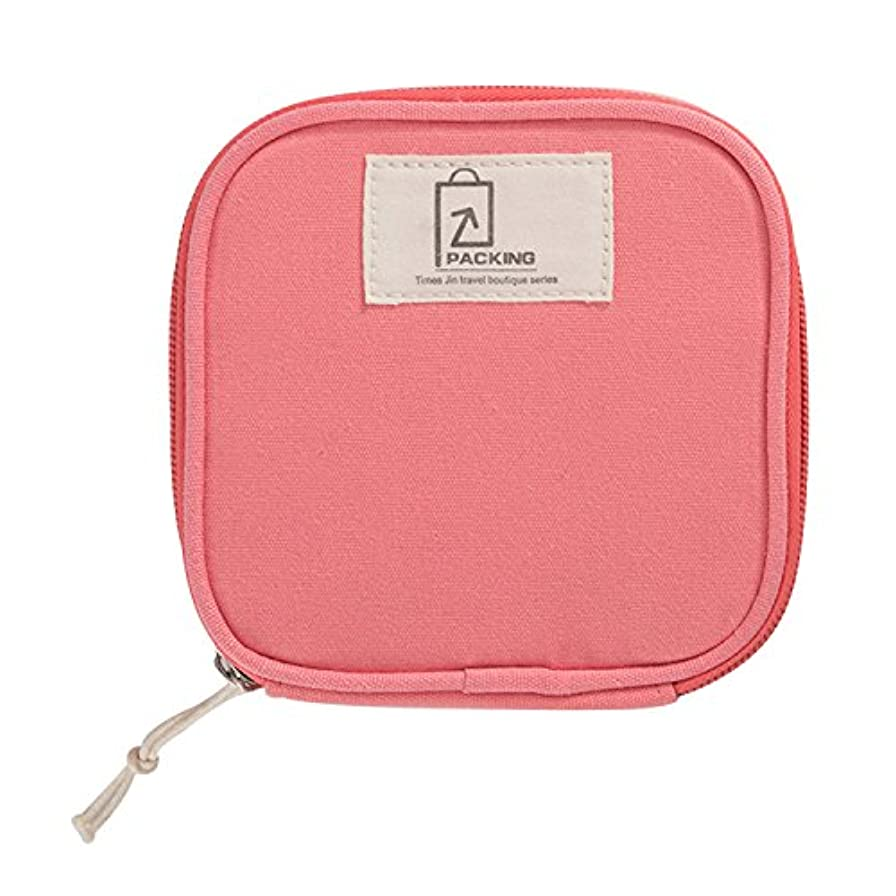 チケットヘビー決めますSasairy 化粧ポーチ 携帯用 可愛い 化粧バッグ 綿 ファスナー式 メッシュ 収納バッグ 小さめ 出張 旅行 メイクポーチ 純色 洗面用品入れ 整理バッグ 小物入れ 軽量 おしゃれ
