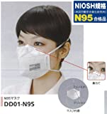 N95マスク(10枚入り) 花粉症・大気汚染・PM2.5対策 DD01-N95-1