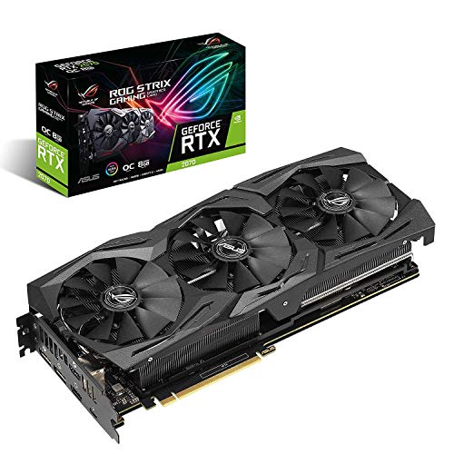 ASUS NVIDIA GeForce RTX 2070搭載 トリプルファンモデル 8GB  ROG-STRIX-RTX2070-O8G-GAMING