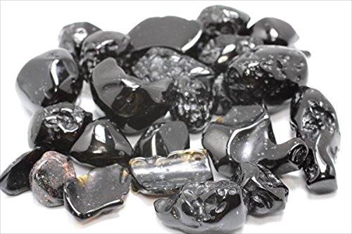 タイナイト テクタイト タイ隕石 タンブル 握り石 磨き石 100g タイ