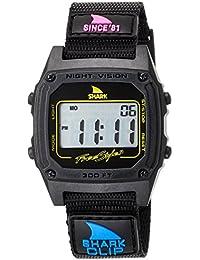 [フリースタイル]Freestyle 腕時計 SHARK CLIP デジタル 100m防水 ナイロンベルト 復刻カラー ブラック 101006 【正規輸入品】