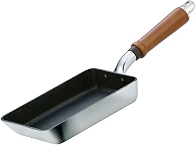 北陸アルミ 玉子焼 13×19cm [ガス火専用] 軽量 センレンキャストテフロン加工 日本製