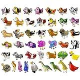 ウォーキング 動物アルミバルーン 風船 大量セット 動物バルーン 誕生日 パーティー装飾や子供のプレゼントに最高 (20種類)