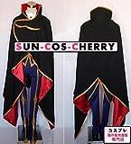 コスプレ衣装 E25-0002 コードギアス 反逆のルルーシュR2 ゼロ ルルーシュ・ランペルージ 男性LLサイズ