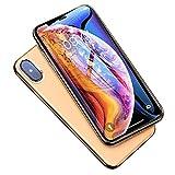iPhone 11 Pro/iPhone X/iPhone XS ガラスフィルム 強化ガラス 保護フィルム 完全防塵 硬度9H 高透過率 耐衝撃 防指紋 防飛散 気泡ゼロ 高感度タッチ