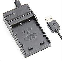 Just a mall NP-W126 対応 USB充電器 急速充電 時間節約 バッテリーチャージャー USBケーブル付属 Fujifilm NP-W126 NP-W126S Fujifilm FinePix X-Pro1 X-Pro2 HS30EXR HS33EXR HS35EXR HS50EXR X-A1 X-A2 X-E1 X-E2 X-M1 X-T1 X-T2 X-T10 など対応