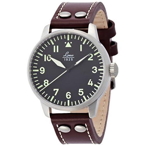 [ラコ]LACO 腕時計 パイロット 自動 巻き 5気圧 防水 メンズ 861688 アウグスブルグ メンズ 【正規輸入品】