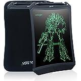NEWYES 8.5インチ 電子メモ帳 手書き 落書き ペーパーレス ロボットボード マグネット付き (黒+収納ケース)