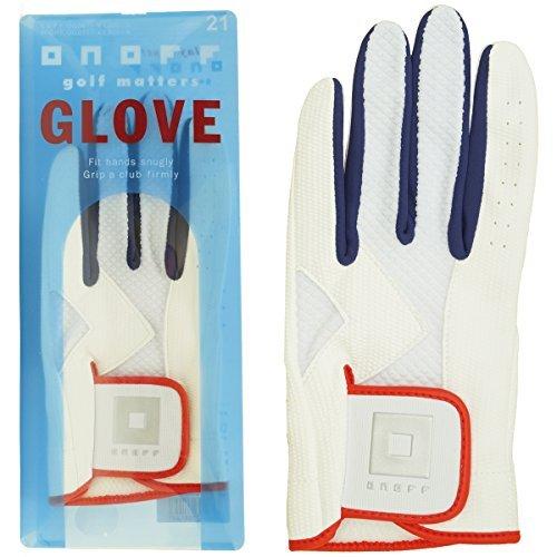GLOBERIDE(グローブライド) ゴルフグローブ オノフ グローブ(左手) メンズ OG0617-01 WHT23 右利き用 ホワイト 23cm