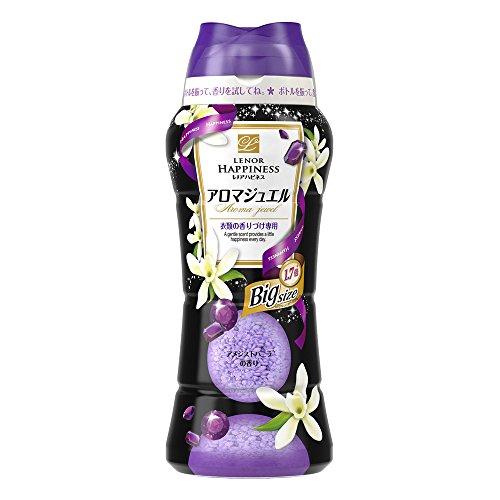 【大容量】 レノア ハピネス 香り付け専用ビーズ アロマジュエル アメジストバニラ 638g